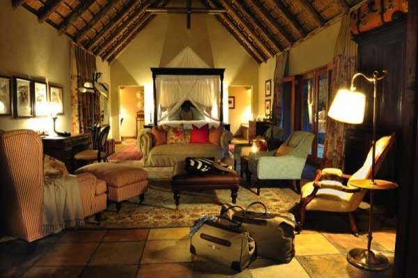 Fodor's Honors Sabi Sabi private game reserve in South Africa as of the 100 best hotels in the world