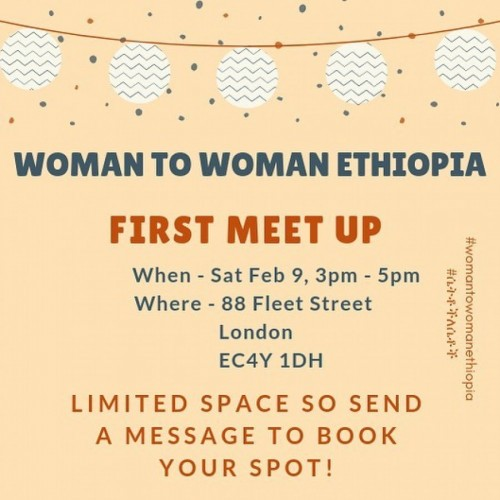 Woman to Woman Ethiopia London Meetup
