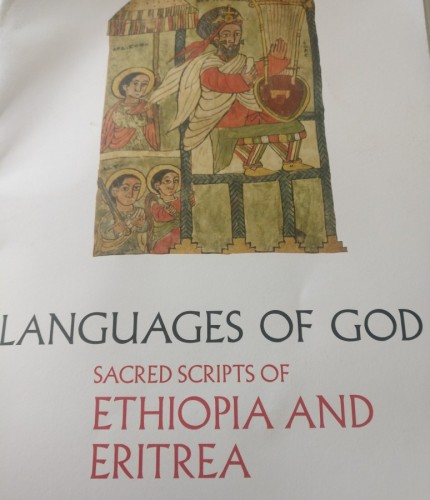 Languages of God: sacred scripts of Ethiopia and Eritrea