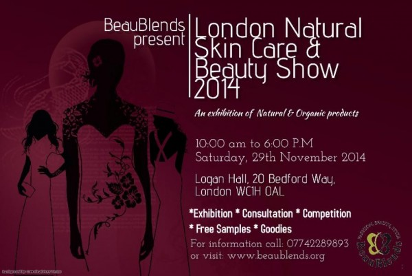 London Natural Skin Care & Beauty Show 2014 - 29.11.14