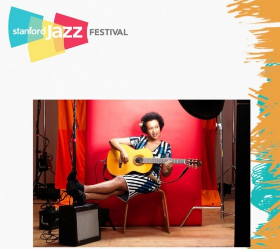 Meklit Live  At Stanford Jazz Festival - 27.06.14