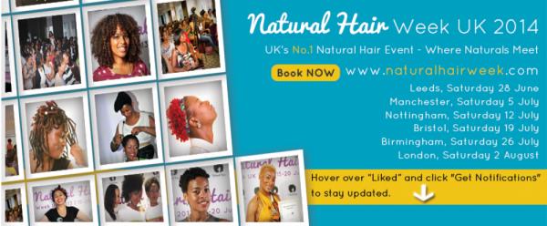 Natural Hair Week UK 2014 - London - 02.08.14