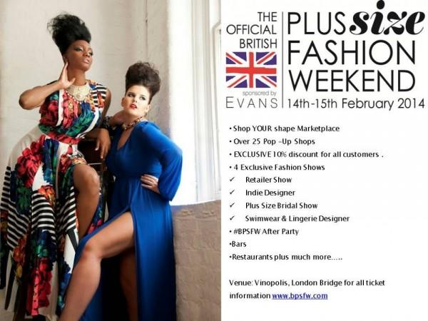 British Plus Size Fashion Weekend - 14-15.02.14