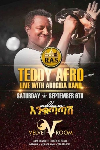 Teddy Afro Live Ethiopian New Year - 06.09.14