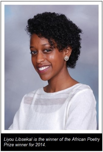 Ethiopian Poet Liyou Libsekal Wins The 2014 African Poetry Prize.