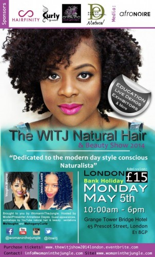 The WITJ Natural Hair & Beauty Show - 05.05.14