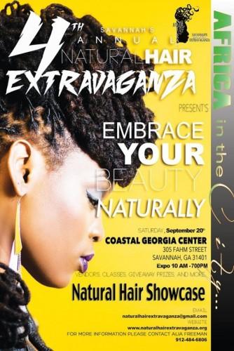 Savannah's Natural Hair Extravaganza - 20.09.14