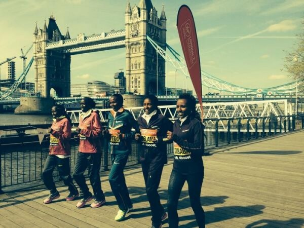 East African Battle At Virgin Money London Marathon 2014
