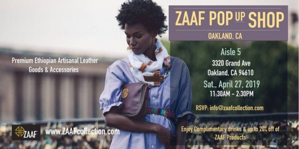 Zaaf Collection Pop Up - Oakland