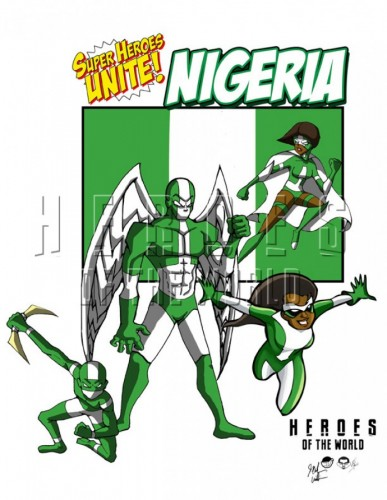 Super Heroes of Africa