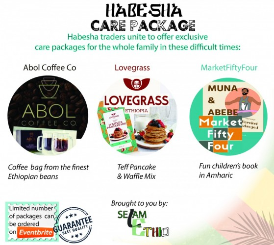 Selam LeEthiopia is offering specially designed Habesha Care Packages