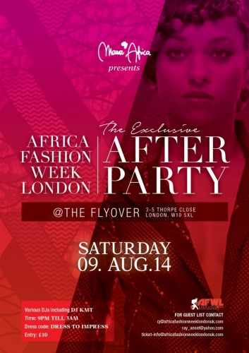 Official AFWL Aftershow Party - 09.08.14