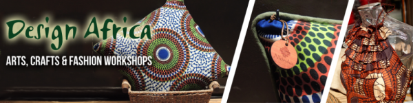 Design Africa 2015: Make an African Fabric Tote Bag - 08.07.15