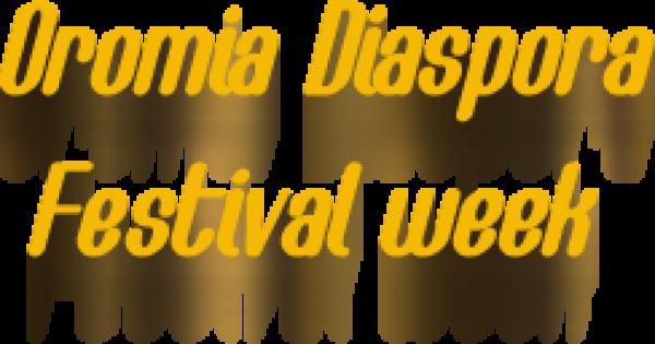 Oromia Diaspora Festival 2015 - 03-10.08.15