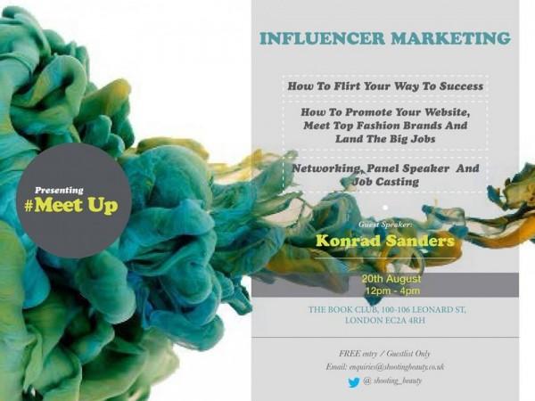 #SBMeetUps - Influencer Marketing: How To Flirt Your Way To Success - 20.08.14