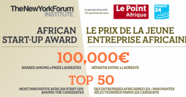 African Start-Up Award Application Now Open