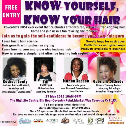 Know Yourself Know Your Hair - 27.05.15