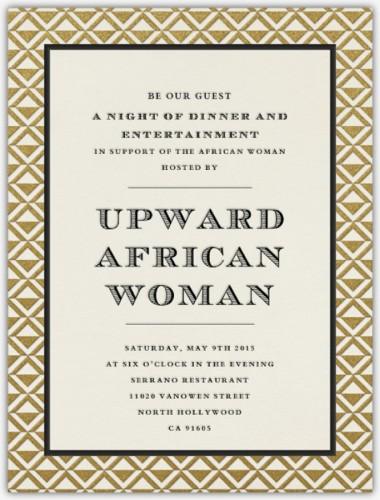 Upward African Woman - 09.05.15