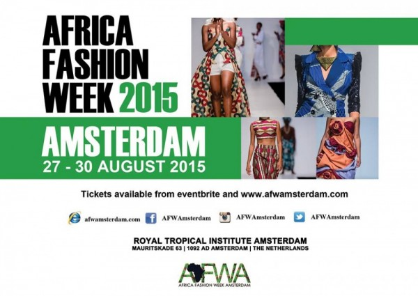Africa Fashion Week Amsterdam 2015 - 28-30.08.15