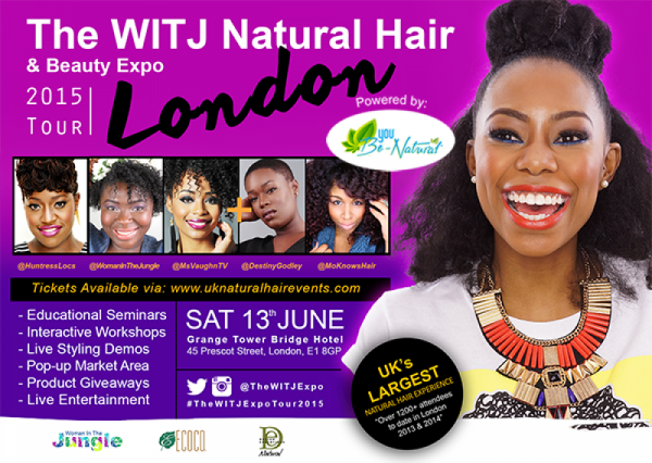 The WITJ Natural Hair & Beauty Expo London 2015 - 13.06.15