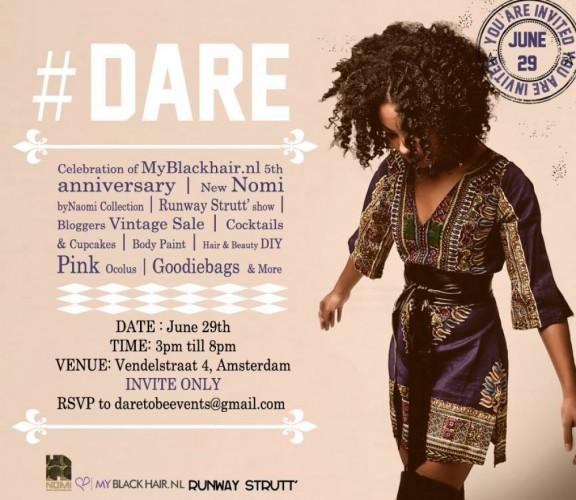 My Black Hair Presents Dare - 29.06.14