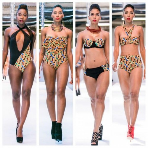 Africa Fashion Week London: Crown Rose Swimwear