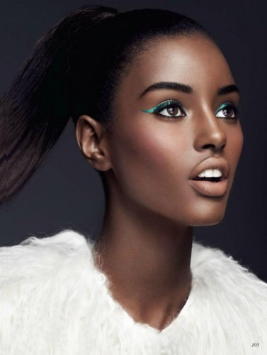 Girl beautiful the most black 35 Most
