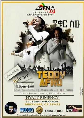 ESFNA Present Teddy Afo Live In Concert - 03.07.14