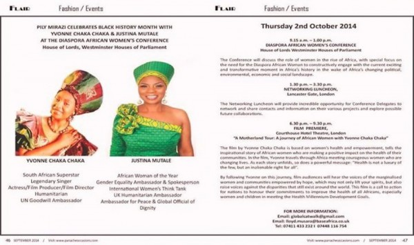 AFRICA RISING CONFERENCE: THE ROLE OF THE DIASPORA AFRICAN WOMAN - 02.10.14