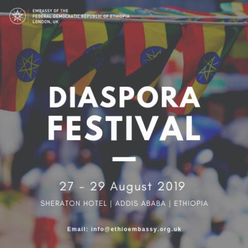 Ethiopian Diaspora Festival 2019