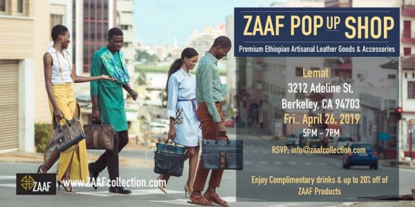 Zaaf Collection Pop Up - Berkeley