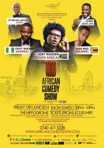 African Comedy Show - 13.06.14