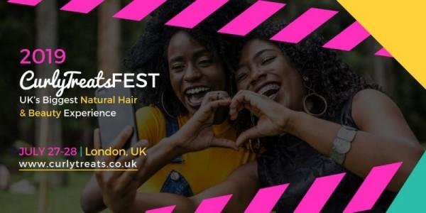 CurlyTreats Natural Hair Festival London 2019