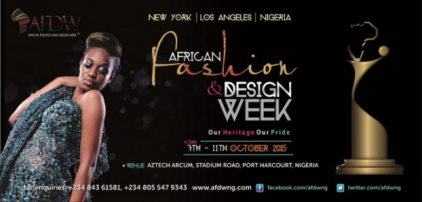African Fashion & Design Week Nigeria 2015 - 06-07.10.15