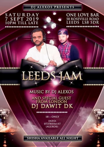 DJ Alexos Presents Leeds Jam