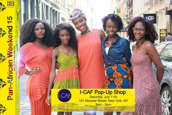 I-CAF Pop-Up Shop - 11.07.15