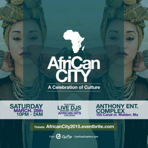 AFRICAN CiTY Celebration of Culture - 28.03.15