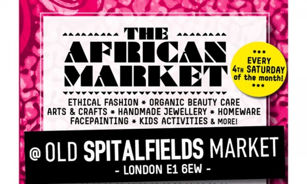 Open The Gate Presents The African Market -  25.04.15