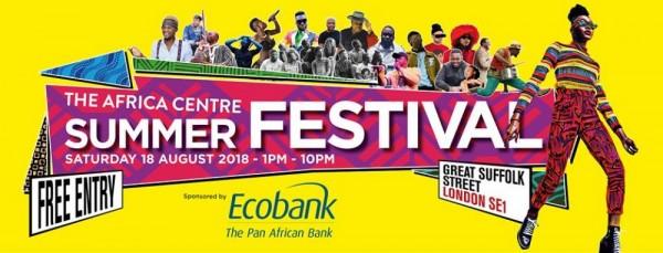 The Africa Centre Summer Festival 2018