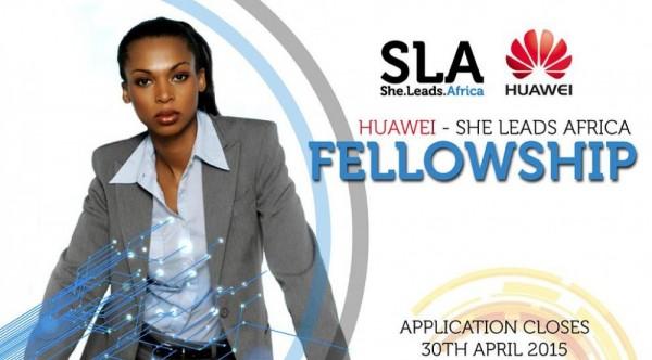 Huawei - She Leads Africa Fellowship Application