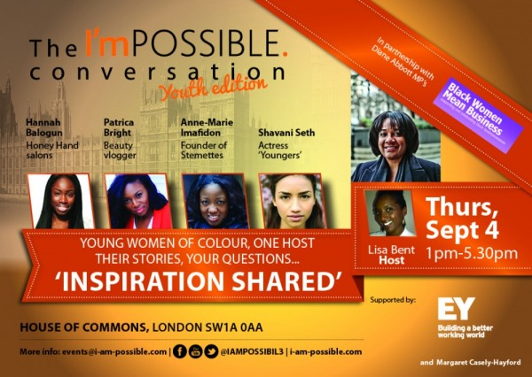 The I'mPOSSIBLE Conversation Youth Edition - 04.09.14