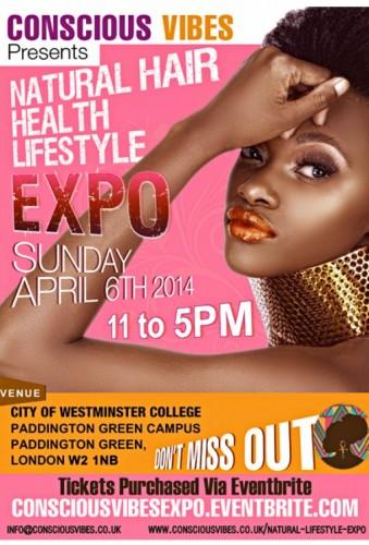 Natural Hair, Health & Lifestyle Expo - 06.04.14
