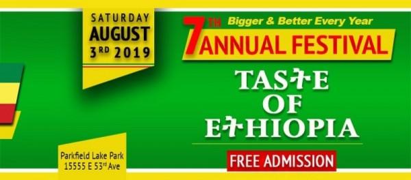 Taste of Ethiopia Festival 2019