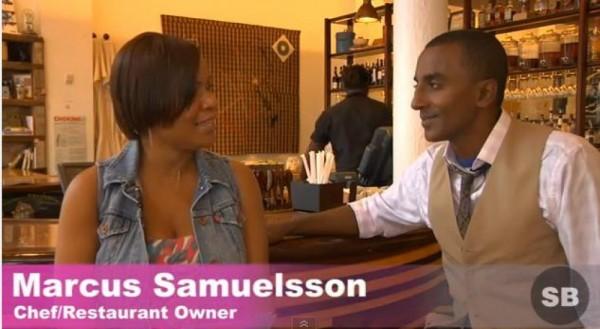 Style Savvy Celebrity Chef Marcus Samuelsson