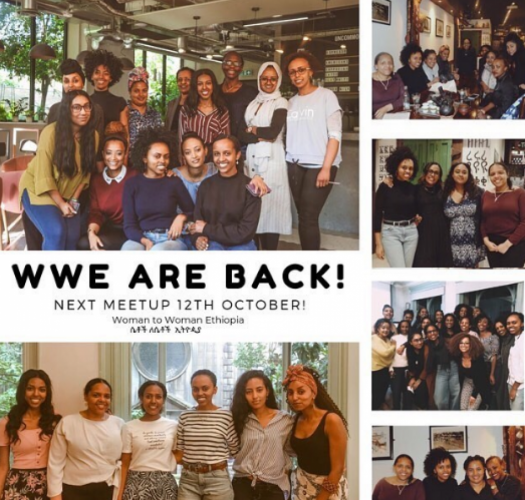 Woman to Woman Ethiopia London October Meetup