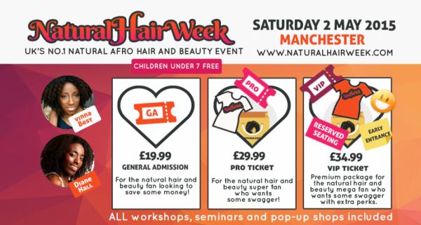 Natural Hair Week UK 2015 - Manchester - 02.05.15