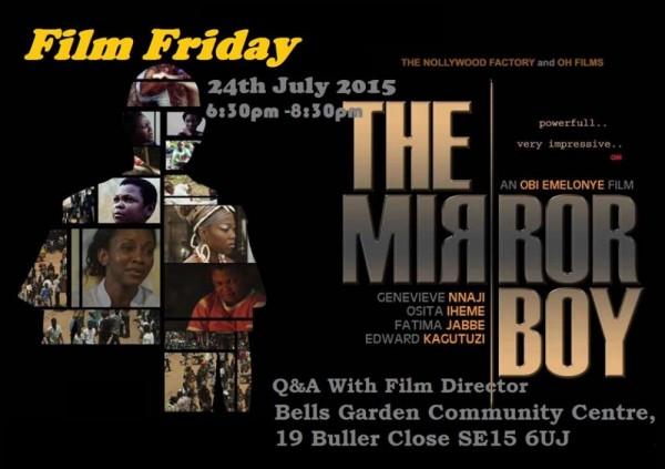 Black Cinema Club Screening Of Mirror Boy - 24.07.15