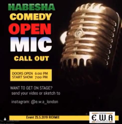 Habesha Comedy Open Mic