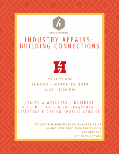 Habesha Networks Industry Affairs: Building Connections (DC)