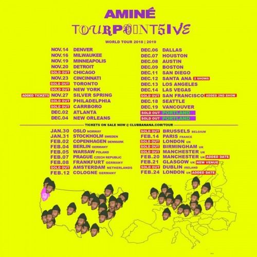 Aminé TourPointFive Tour